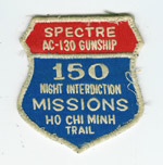 150 Mission patch