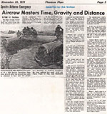 Photo of Phantom Flyer article about Prometheus, dated November 26, 1971 - Click to view larger image